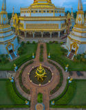 Many amazing sculpture and architect in temple Royalty Free Stock Images