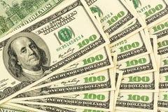 Many dollar bills Stock Photography
