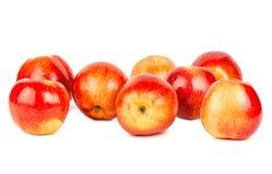 Many apples isolated on white background Stock Photos