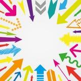 Many arrows Stock Image