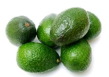 Many avocadoes Royalty Free Stock Image