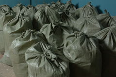 Many bags Royalty Free Stock Photography
