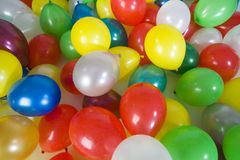 Many balloons. Baloon background Stock Photo