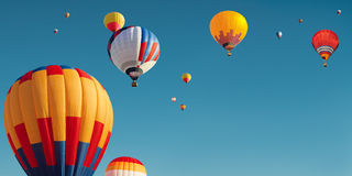 Many balloons Royalty Free Stock Images