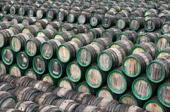 Many barrels Royalty Free Stock Photo