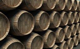 Free Many Barrels Royalty Free Stock Photography - 11607057
