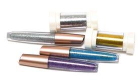Many beautiful gloss for lips Stock Image