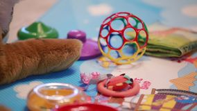 Many beautiful toys Royalty Free Stock Image