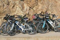 Many bicycles Stock Photo