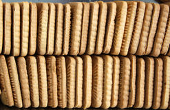 Many biscuits Royalty Free Stock Images