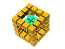 Many blocks Royalty Free Stock Images