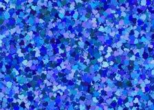 Many blue hearts background Royalty Free Stock Photo
