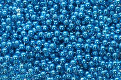 Many eyes are watching. Many blue organisms look at you Stock Photos