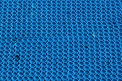 Many blue plastic caps as background Royalty Free Stock Photo