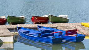 Many boats in a summer day, Maschsee, Hannover Royalty Free Stock Photo