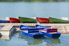 Many boats in a summer day, Maschsee, Hannover Stock Photography