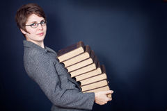 Many books Royalty Free Stock Image