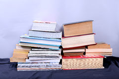 Many books Royalty Free Stock Photography