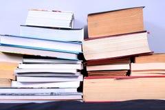 Many books Royalty Free Stock Photo