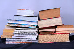 Many books Stock Photo