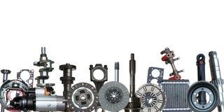 Borders of car parts. Many borders of car parts Stock Photography