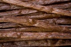 Many bourbon vanilla pods Royalty Free Stock Photo