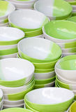 Many Bowls Stack. Royalty Free Stock Photo