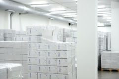 Many boxes Royalty Free Stock Images