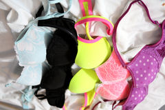 Many bras Stock Photos