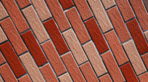 Many brick wall background. Many brick wall arranged in the background of Royalty Free Stock Photography