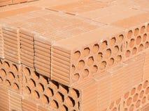 Many bricks on a tower Royalty Free Stock Photos