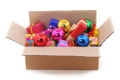 Many bright gifts. stock photos