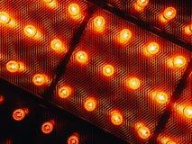 Many bright glowing glass lamps. Illumination of set Edison retro lamps on dark rabitz background. Fashionable loft. Design with Fashionable loft design with stock photos