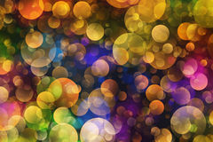 Many bubbles in Chaotic Arrangement Royalty Free Stock Photography