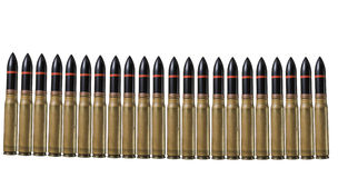 Many bullets - warfare concept Royalty Free Stock Images