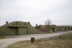 Many bunkers Royalty Free Stock Images