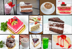 Many cake Stock Photos