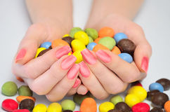 Many candies Royalty Free Stock Image