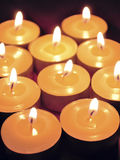 Many candles Royalty Free Stock Photography