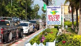 Many car parking Royalty Free Stock Photo