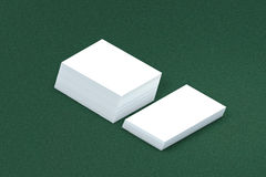Many cards stack of paper template to presentation Royalty Free Stock Images