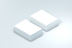 Many cards stack of paper template to presentation Royalty Free Stock Photo