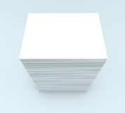 Many cards. template to presentation Royalty Free Stock Photography