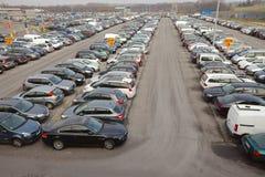 Many Cars Royalty Free Stock Image