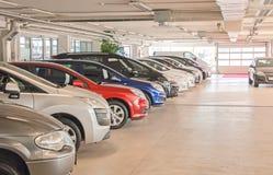 Many cars. Royalty Free Stock Image