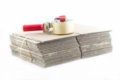 Many cartons Stock Photography