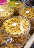 Many cashew nut Stock Image
