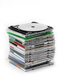 Many CD Royalty Free Stock Image
