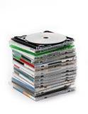Many CD Royalty Free Stock Image