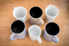 Many of the ceramic cup Stock Images